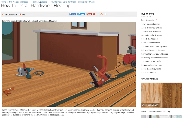 How To Install Hardwood Flooring The Daily Egg