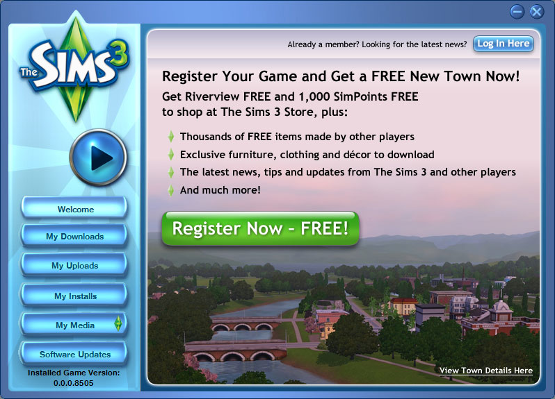 The Sims 3 variation