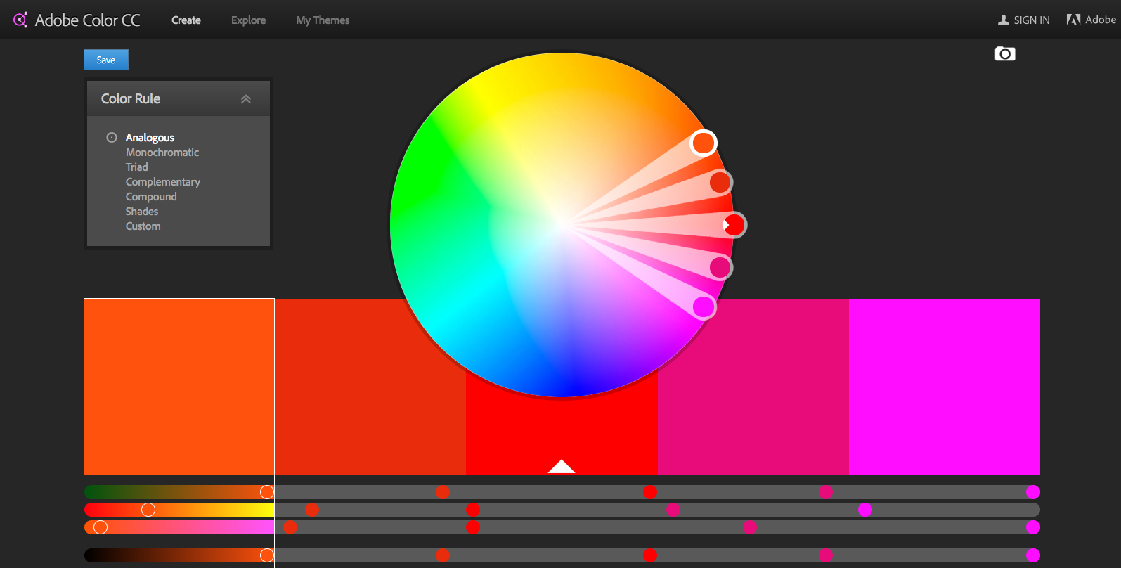 Game color theory - 7 Adobe Color Cc Color Wheel