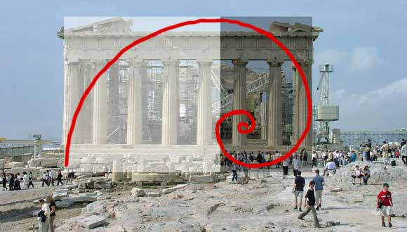 Greek golden ratio