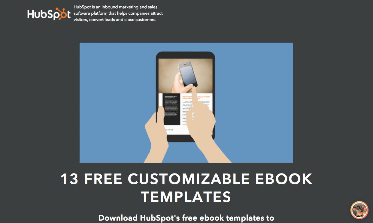 free customizable ebook templates facebook twitter google - Free Ebook Templates