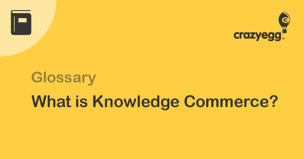 what is knowledge commerce