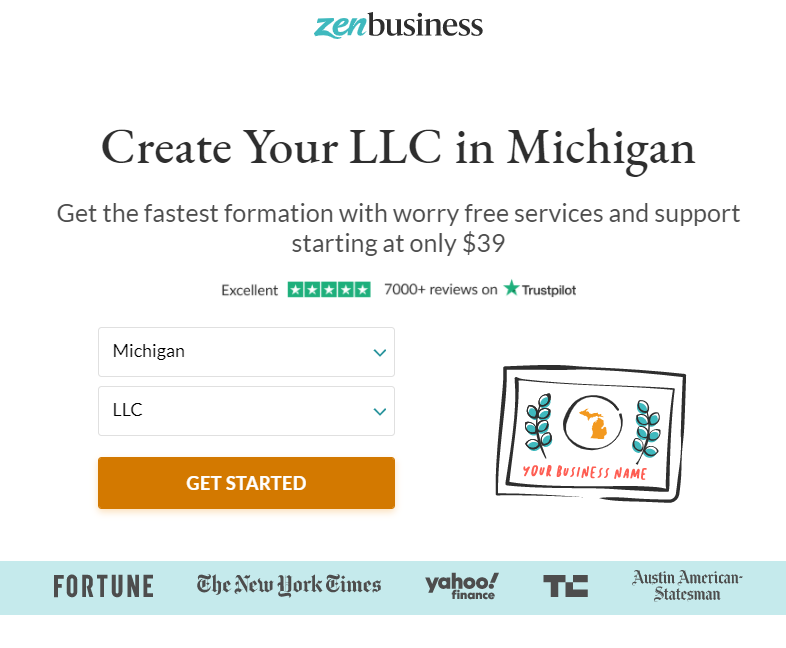 5 Easy Steps to Start an LLC in Michigan