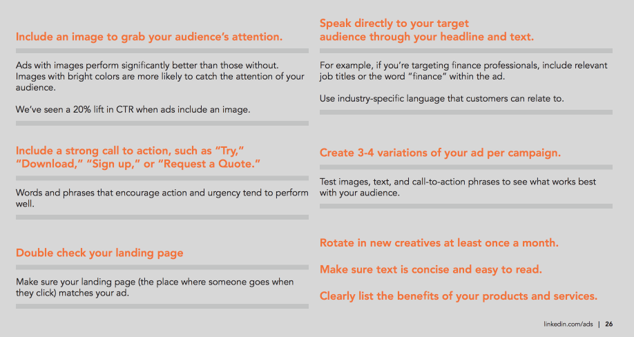 Best Practices For Ad Copy
