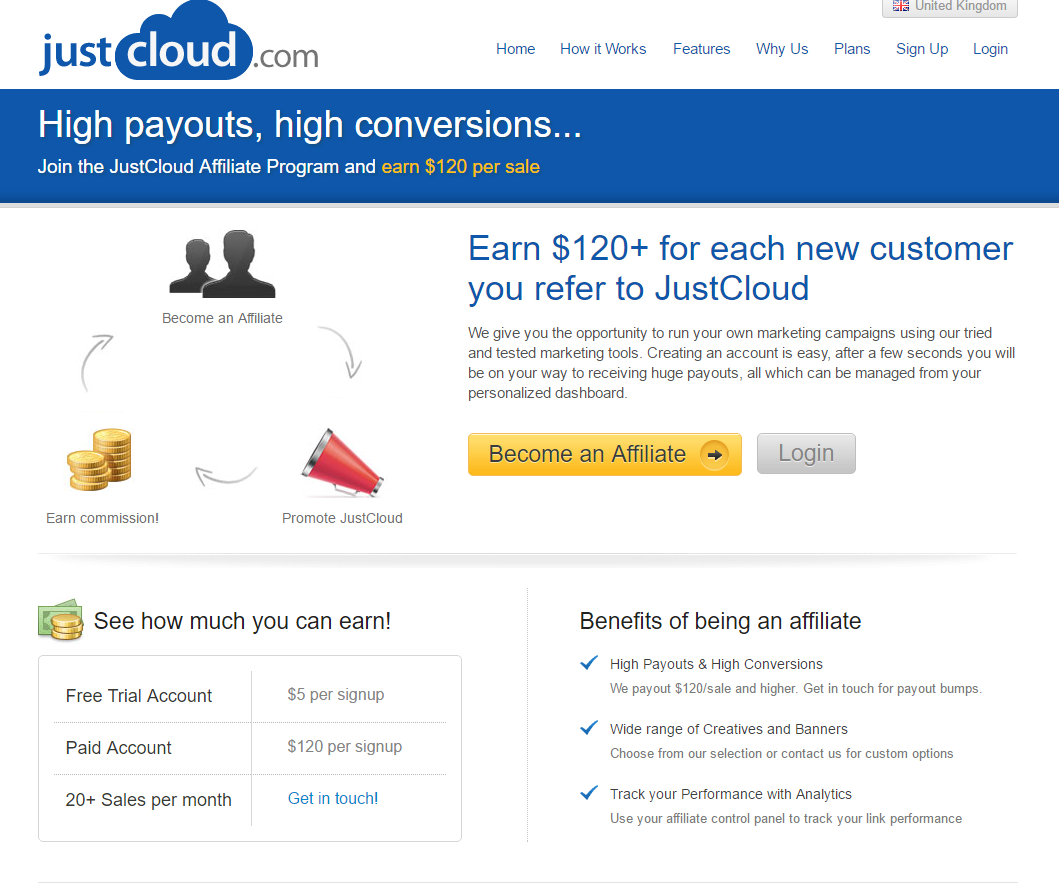 just cloud affiliates