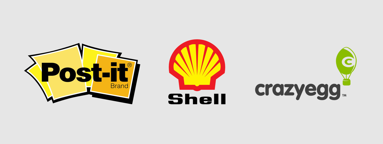 Examples of pictorial logos