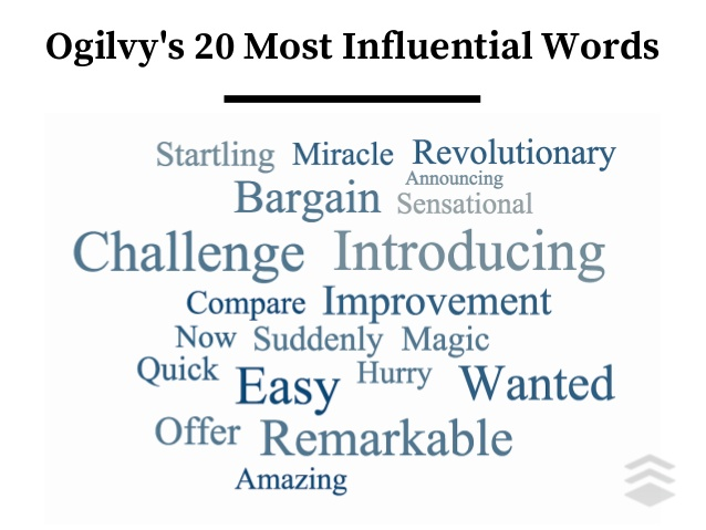 ogilvys most influential words