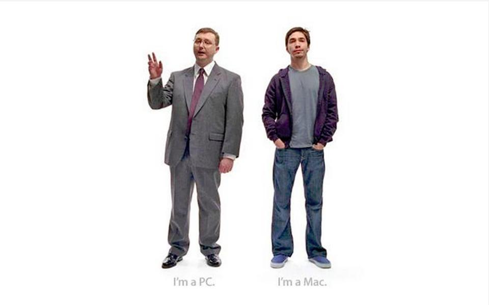 pc vs. mac ads