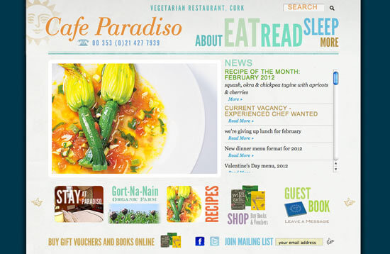 Beautiful Restaurant Website Designs | View 25 Examples