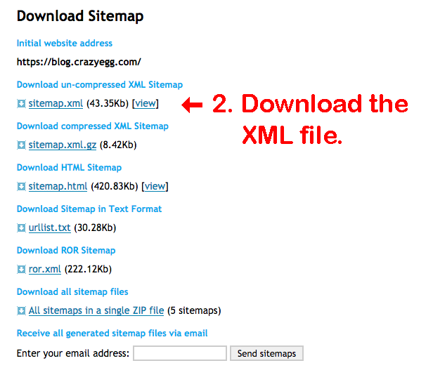 what are the seo benefits of xml html sitemaps